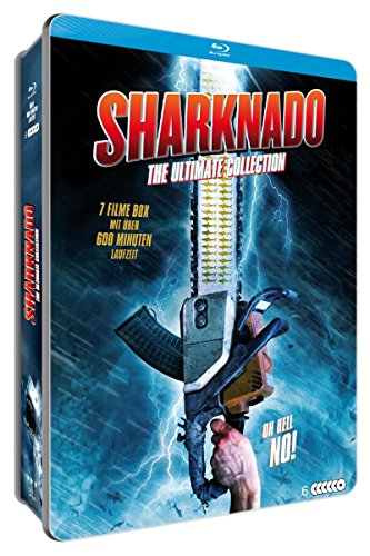 Sharknado - The Ultimate Collection Limited-Metallbox (5 Blu-rays plus Bonus DVD & Postkarten)