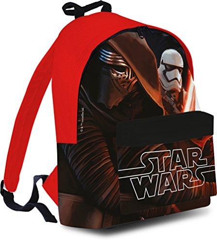 Grand sac à dos enfant garçon Disney Star Wars 7 Kylo Ren 40 cm Rentrée scolaire 2016