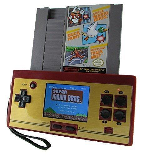 Nouvelle Console NES PORTABLE PAL & NTSC (Accepte Cartouches Europe & USA) Port cartouche et branchement sur TV Edition Speciale Famicom 88 mini jeux inclus