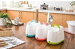 Dreamworld 1 Pc Kitchen Home Strainer Cutlery Drainer and Organizer Dryer Storage Spork Spoon Cutlery Holder