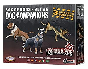 Zombicide - Box of Dogs - Set 6 - Dog Companions