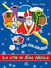 Idea Regalo - La vita di san Nicola da colorare