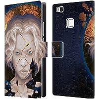 Ufficiale Daniel Conway Kintsugi rotto Ritratti Surreali Cover a portafoglio in pelle per Huawei P9 lite / G9 Lite