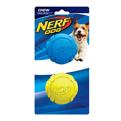 Nerf Dog Curve Ball: Ø 6,4 cm, 2er-Set -