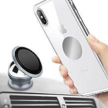 Supporto auto magnetica, tronisky supporto telefono auto universale magnetico 360gradi rotazione a magnetica supporto auto per iPhone, Samsung, LG, Huawei e gli altri smartphone, GPS