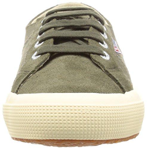 Superga  2750 Sueu, Sneakers Basses mixte adulte Green (Military green 595)