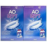 Aosept Plus Kontaktlinsen-Pflegemittel, Systempack, 4 x 360 ml