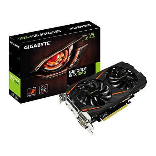 Gigabyte GTX 1060 WINDFORCE OC 3G GeForce GTX 1060 3GB GDDR5 -...
