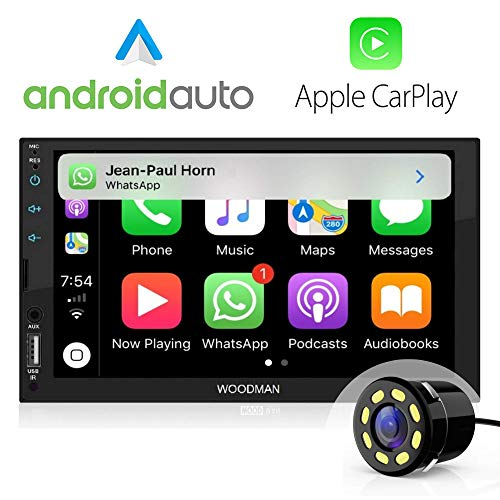 Woodman SAY MP5 Car Music Player with Voice Control #JustSayIt (SAYi (Android Auto + Car Play))