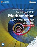 Cambridge Igcse Mathematics Core and Extended Coursebook With Cd-rom [Paperback] [Dec 02, 2015]