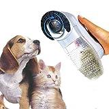 Shed Pal 2 in 1 Tierhaarsauger, entfernt überschüssige Haare und massiert Ihren Hund / Ihre Katze, schmerzfrei, batteriebetrieben, MWS1684