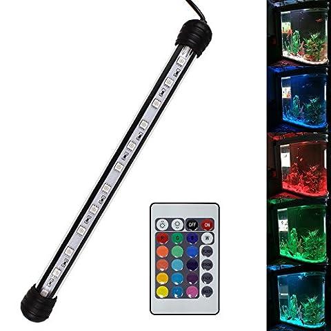SPEED Aquarium Mondlicht SMD LED Lampe Wasserdicht Aquarium Beleuchtung Tageslichtsimulator RGB / Blau&Weiß / kaltweiß (28-110CM) RGB