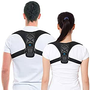 Adjustable Posture Corrector - Medicative Back Posture Corrector Keeps Joints And Bones In correct Alignment. This Breathable Posture Corrector reduces the pressure on spine - Shoulder Posture Corrector prevents the spine from becoming fixed in abnormal position. Get The Body You Deserve