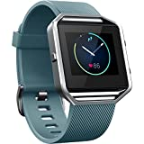 Blaze Fitbit Smart Watch Bracelet de remplacement fitness Bracelet en silicone Bandes Bracelet en acier Boucle pas de cadre De nombreuses couleurs disponibles, gris
