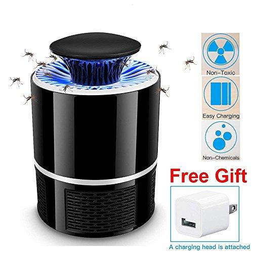 AICase USB UV Lampe Anti Moustique Électrique Tueur de Moustique Tueur D'insectes Mouches Piège,Surface utile jusqu'à 20m²,Pas...