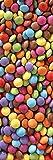 PLAGE 162268–Adesivo per cucine e frigorifero–caramelle–Vinile 180x 0.1x 59,5cm, Multicolore