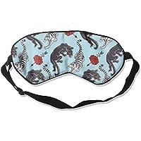 Sleep Eye Mask Tiger and Panther Lightweight Soft Blindfold Adjustable Head Strap Eyeshade Travel Eyepatch E6 preisvergleich bei billige-tabletten.eu