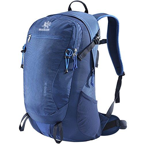 HWLXBB Outdoor Bergsteigen Tasche Männlich und Weiblich 28L Wasserdichte Mehrzweck-Bergsteigen Tasche Wandern Camping Bergsteigen Rucksack 2*