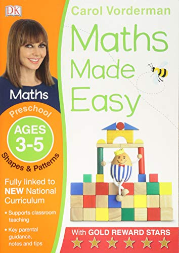Maths Made Easy Shapes and Patterns Ages 3-5 Preschool Key Stage 0 (Made Easy Workbooks)
