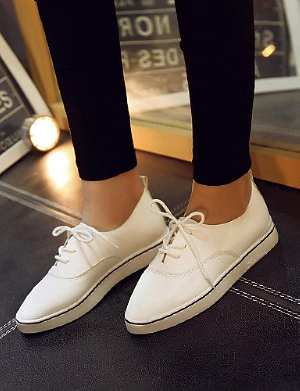 ZQ hug Zapatos de mujer - Plataforma - Punta Redonda - Sneakers a la Moda - Exterior / Casual / Deporte - Semicuero...