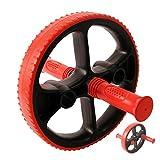 POWRX Bauchmuskeltrainer Bauchtrainer mit variable Griffe I AB-Roller für Fitness- Bauchtraining I AB-Wheel für zuhause