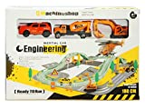 Webby Super Engineering Trackset with 3 Construction Cars