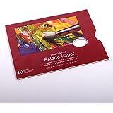 BLOC PALETTES PEINTURE | 25x30 cm, 10 pages, papier 250 g/m² | artiste, jetable