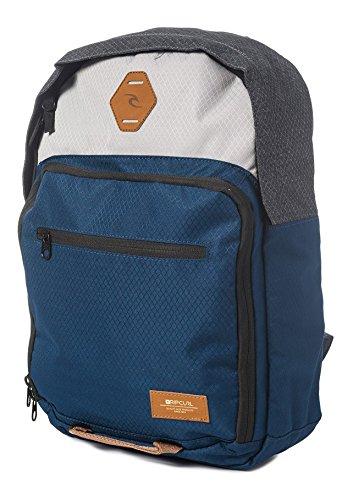 Rip Curl Box Surfpack Mochila tipo casual, 42 cm, 22 liters, Azul (Navy)