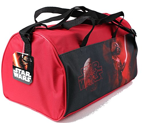 Disney Star Wars Borsa sportiva Plus Foglio con adesivi, Rot (rosso) - 600-234