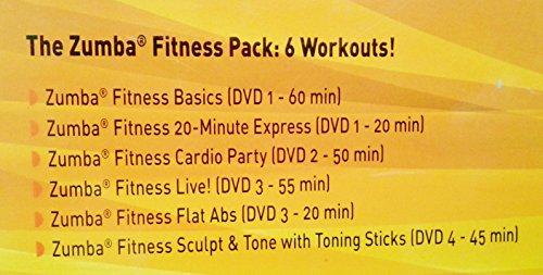 Zumba Fitness (4 DVD + 2 maracas altères)