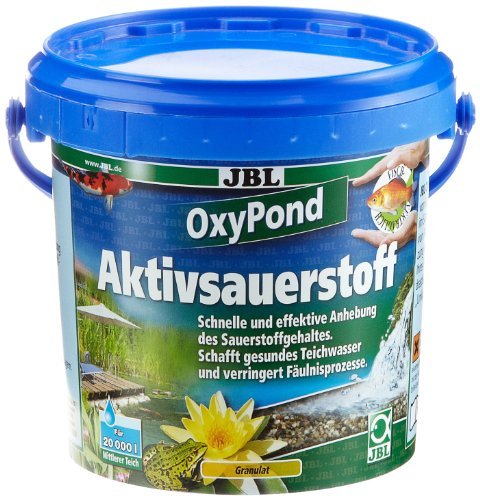 JBL Oxy Pond 27336 Aktivsauerstoff für gesundes Teichwasser, 1 kg