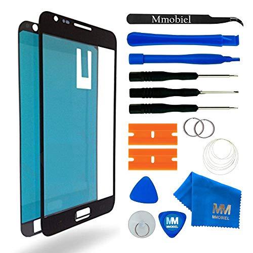 MMOBIEL Écran Tactile Compatible avec Samsung Galaxy Note 2 N7100 Series (Noir) avec Kit d'Outils Complet