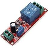 Temporizador de retardo a la conexión ajustable 0-10 segundos con NE555 eléctrica Inpute.
