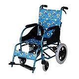 Fauteuil roulant, enfant en fauteuil roulant léger ceinture portable fauteuil roulant pliant manuel fauteuil roulant voyage scooter jeunes handicapés fauteuil roulant, portant sur 80 KG