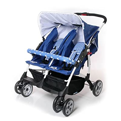 Zwilling Buggy Vegas Twin Blue Star