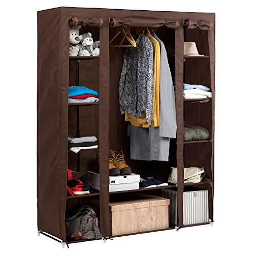 Artmoon Montana Big Foldable Wardrobe Bedroom Furniture Hanging - Bedroom furniture for hanging clothes