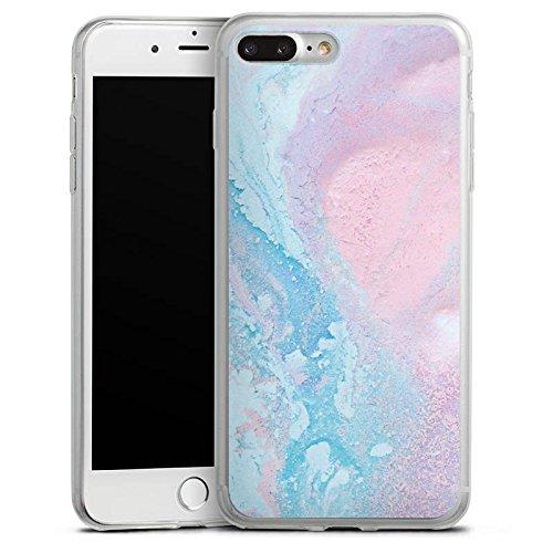 Apple iPhone 6 Slim Case Silikon Hülle Schutzhülle Pastell Muster Grunge Silikon Slim Case transparent