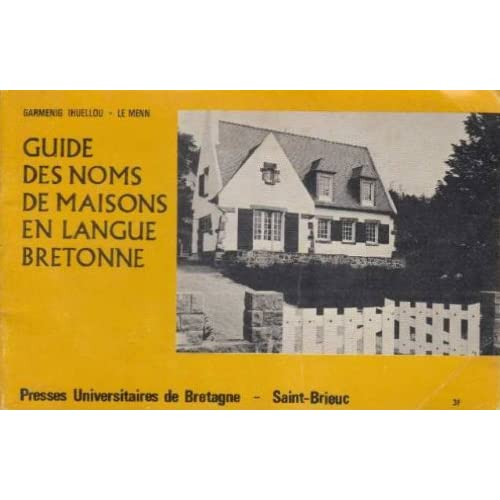Guides des noms de maisons en langue bretonne