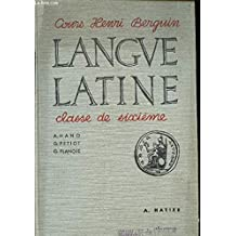 exercices latins pour la classe de sixieme