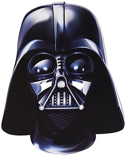 (Star Wars Party-Maske aus hochwertigem Karton Funny Masks Pappe Chewbacca Darth Vader Stormtrooper, Variante:Darth Vader)