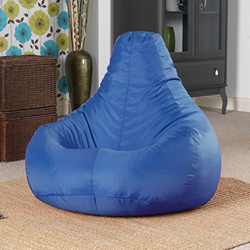 designer-recliner-gaming-bean-bag-blue-indoor-outdoor-beanbag-chair-water-resistant-by-bean-bag-baza