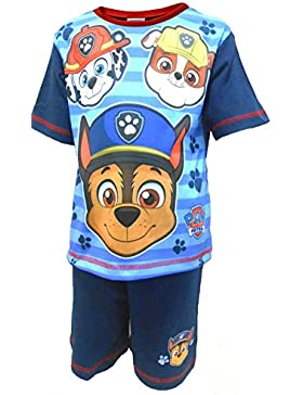 Paw Patrol Faces Pijama shortie niño