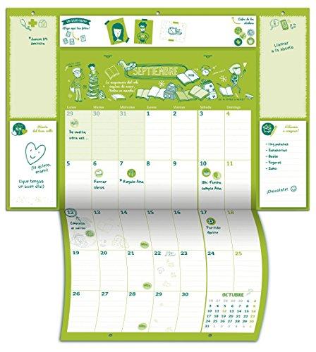 Tu calendario familiar: El sistema definitivo para tenerlo todo (o casi todo) bajo control (Calendarios y agendas)