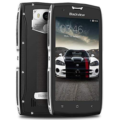 Móvil Antigolpes, Blackview BV7000 Android 7.0 Smarthphone Libre, IP68 Resistente, 3500mAh Batería, 5.0' FHD Pantalla,...