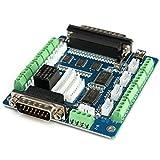 Bluelover Mach3 5-Axis Stepper Motor Control Board Carte D'Interface Cnc