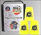 Gioco di strategia FlashCups mostro Linea neon m giallo. DVD