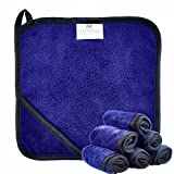 MADAMARI CARE (6er Set) Premium Make-Up Entferner Tuch aus Mikrofaser 23x23cm – Abschminktücher – Gesichtspflege ohne Chemie abschminken