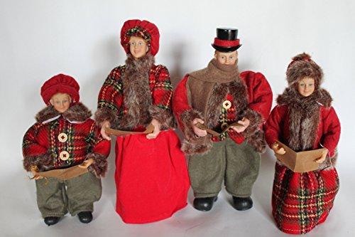 GardenMarketPlace Dekofiguren für Weihnachten, viktorianisch, 30 cm hoch -