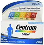 Centrum Multivitamin Tablets for Men, Pack of 60 Review and Comparison