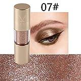 99L'amour Eyeliner cylindrique doré Miss Rose Liquide Ombre à PaupièRes,PaupièRe ImperméAble Yeux Brillants MéTalliques Fards à PaupièRes (G)